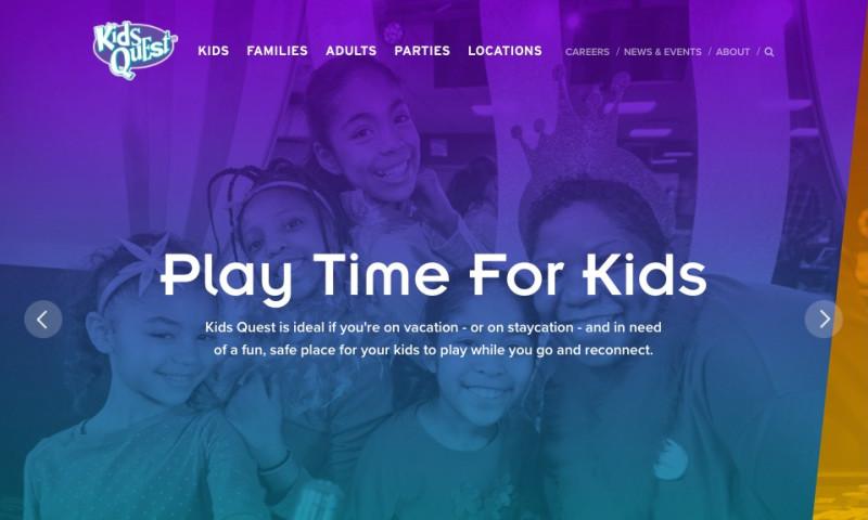 MJK Digital - Kids Quest Responsive Website