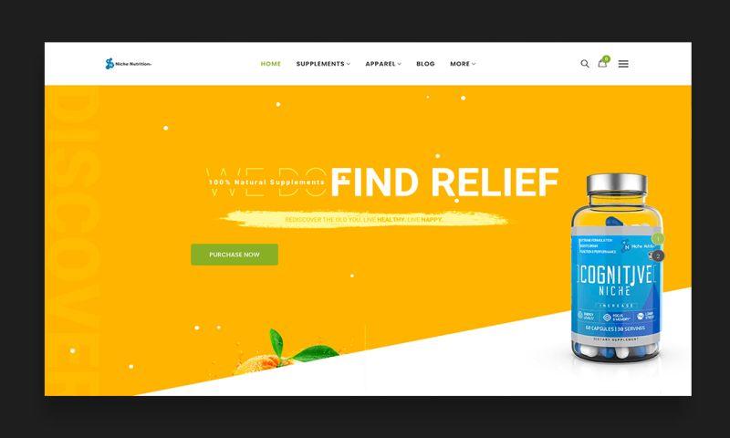 Levo Web Development - Niche nutrition