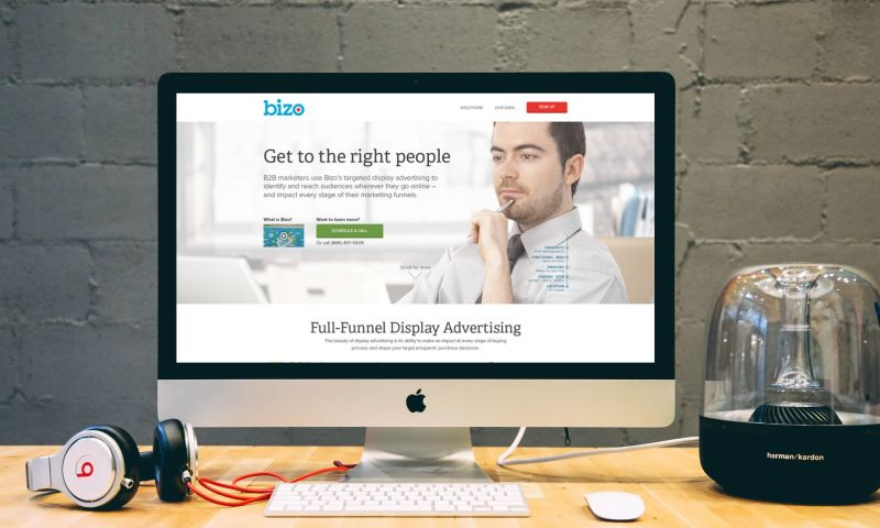 Cozy - PPC landing page for a marketing data firm