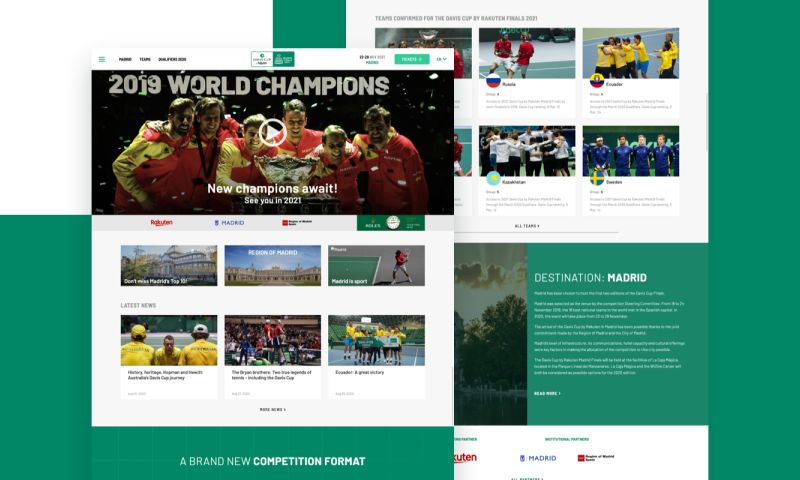 Codegram - Building a scalable, resilient website for the Davis Cup Finals