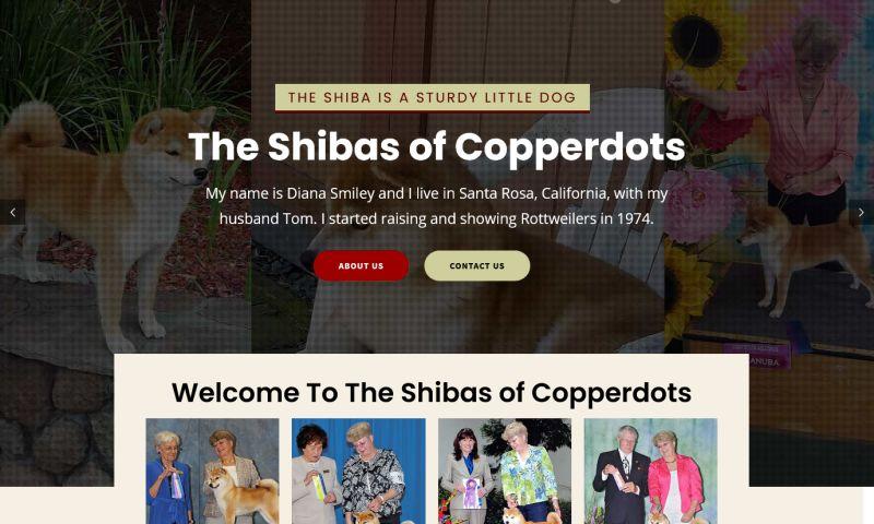 Caldiatech - Shibas of Copperdots