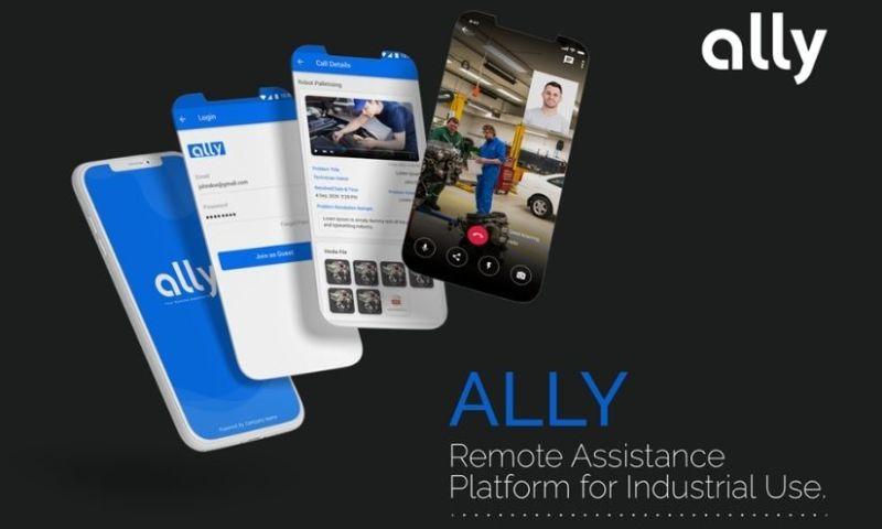 Solution Analysts Inc - Rejig Digital - Ally, AR Based Industrial Remote Assistance Solution