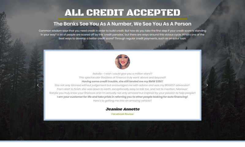 Welby Consulting - Rocky Mountain Auto Credit