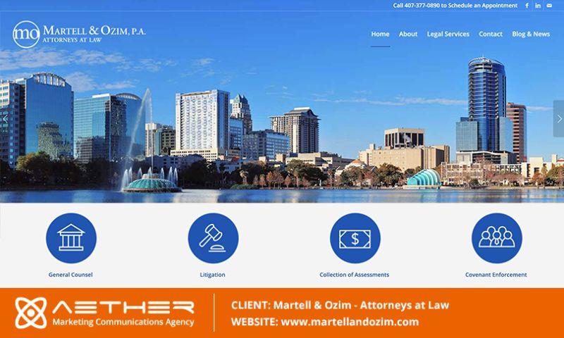 AETHER Marketing Communications - Martell & Ozim: Community Association Law Firm