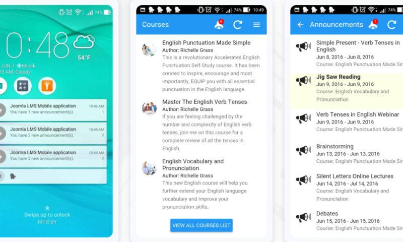 Belitsoft - Custom Mobile App for a Learning Management System