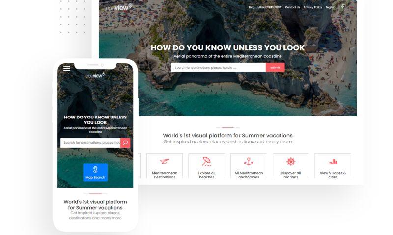 Simpalm - TRIP & TRAVEL WEBSITE