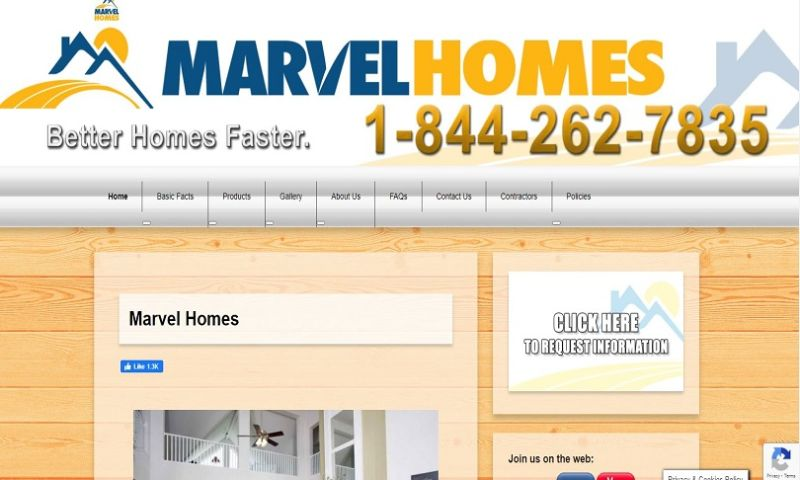 PatzNet - Marvel Homes
