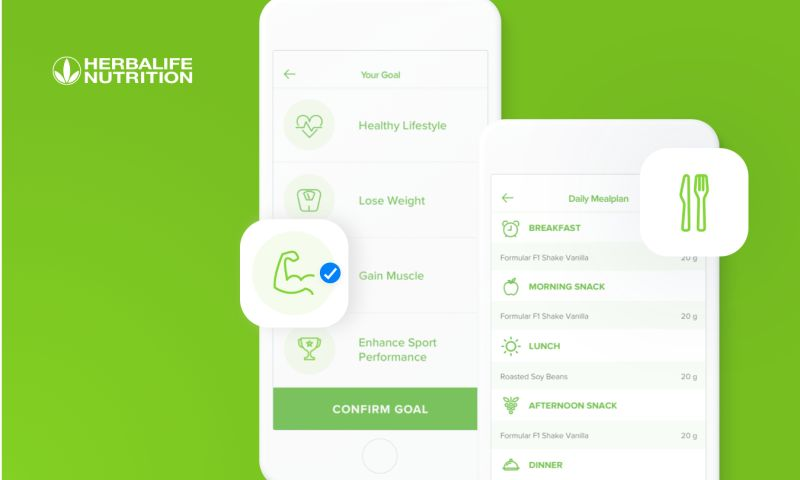Miquido - HerbalifeGo - Easy in-app purchase of Herbalife nutrition products