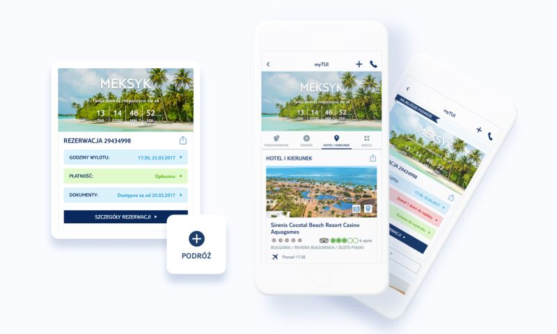 Miquido - TUI - All-in-one travel management app for TUI customers