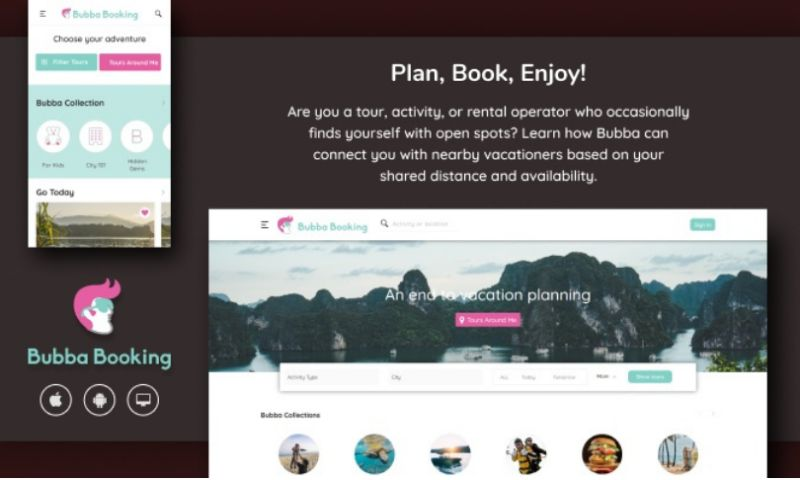 Intuz - Travel Portal & Mobile App connecting Vacationers with Tour Operators