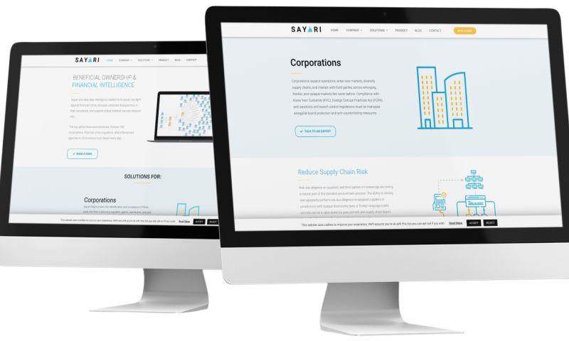 Direction Inc. - SEO & Web Design for a Big Data Startup