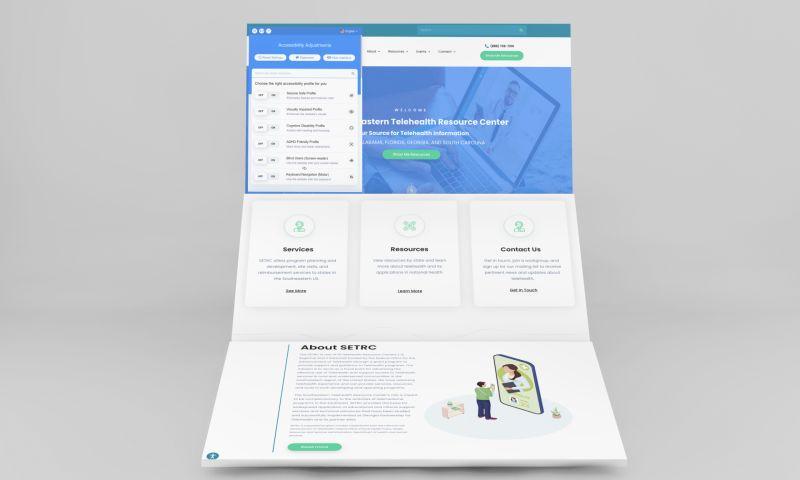 Direction Inc. - Wordpress Web Design for Southeastern Telehealth Resource Center