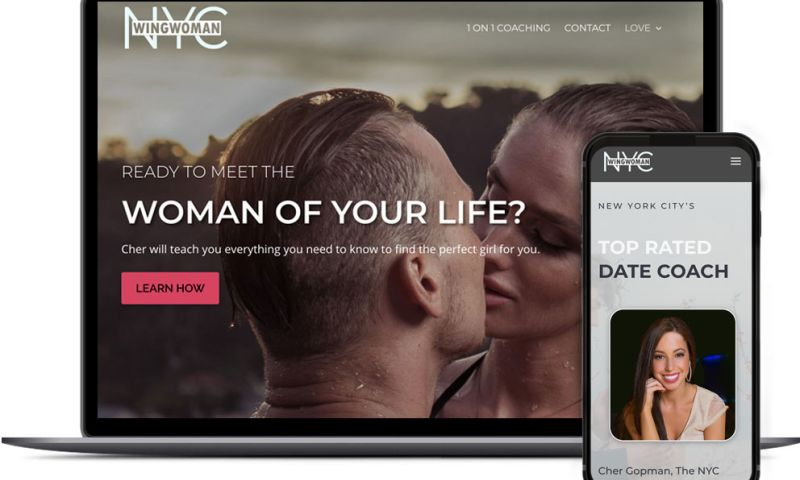 Idea Swell - Web Design for NYC Wing Woman