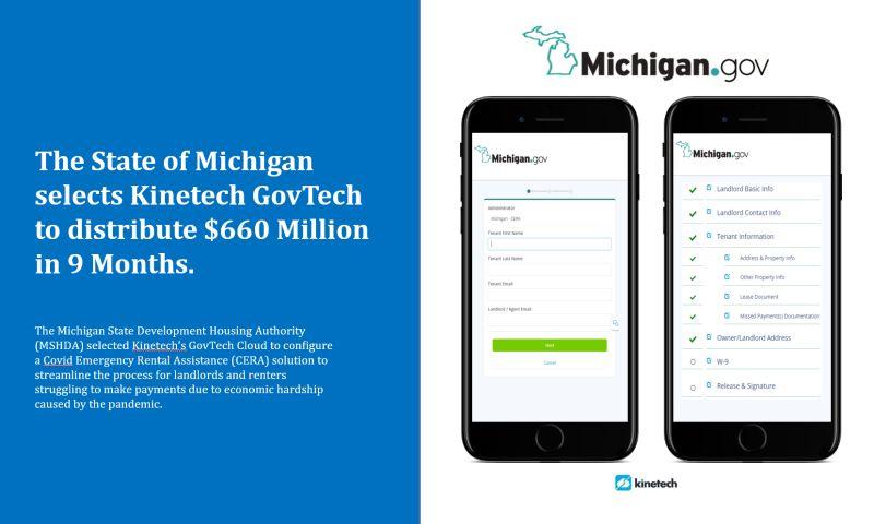 Kinetech Cloud - Michigan - GovTech Cloud