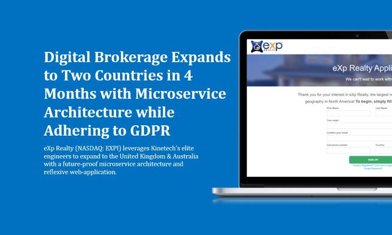Kinetech Cloud - eXp - Digital / Cloud Brokerage
