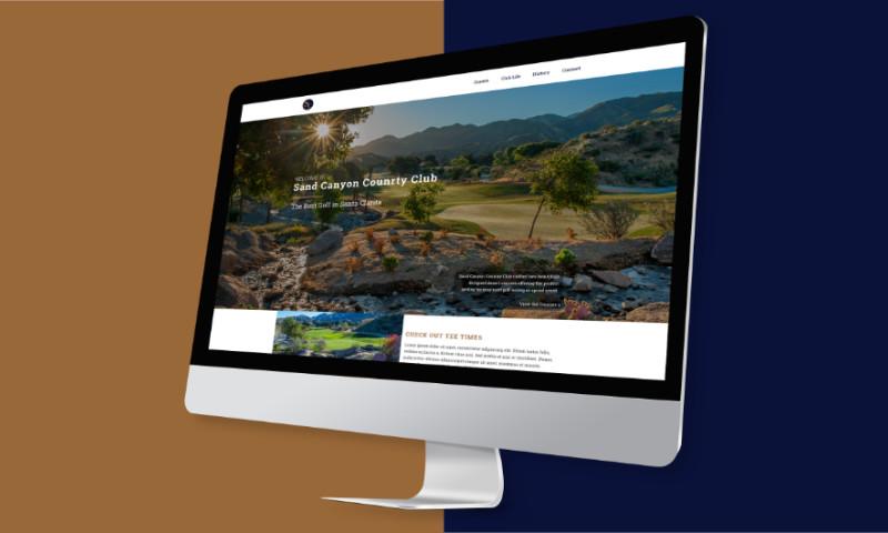 95Visual - Sand Canyon Country Club