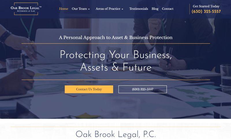 Forward Lawyer Marketing - Oak Brook Legal