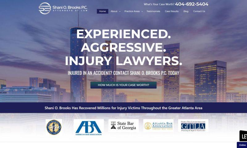 Forward Lawyer Marketing - Shani Brooks Law