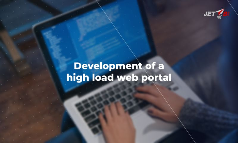 JET BI - Development of a high load web portal