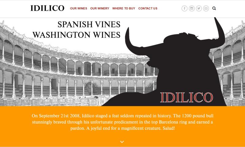 Hillclimb Design, LLC - Idilico Wine