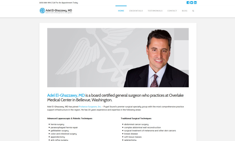 Hillclimb Design, LLC - Adel El-Ghazzawy, M.D.