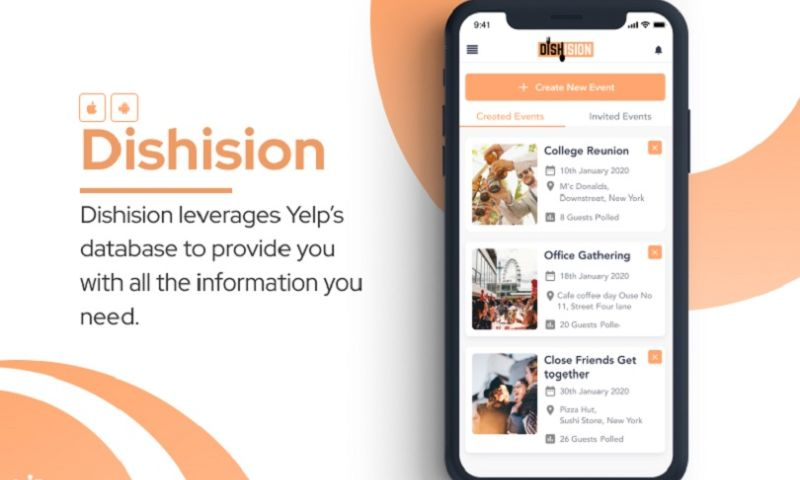 KONSTANT INFOSOLUTIONS - Hybrid app to help you decide the best place to dine out!