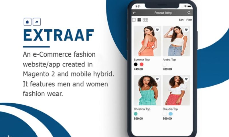 KONSTANT INFOSOLUTIONS - Magento 2 based Fashion eCommerce Web & Mobile App