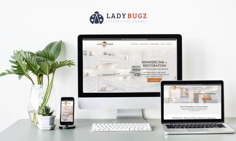 Ladybugz Interactive - A.W. Puma Remodeling