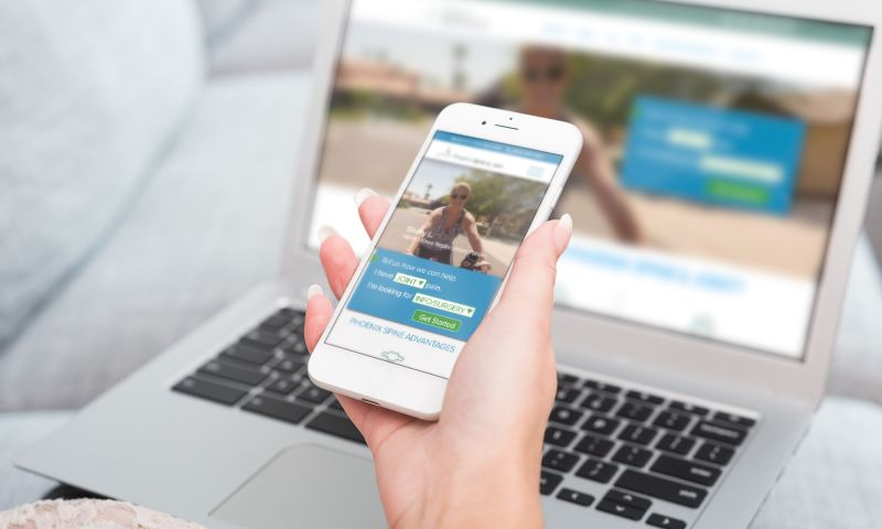 Harrison Creative Group - Responsive Website Design for Healthcare client