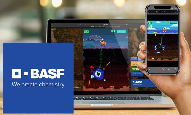 Groove Jones - BASF WebGL Game and Website
