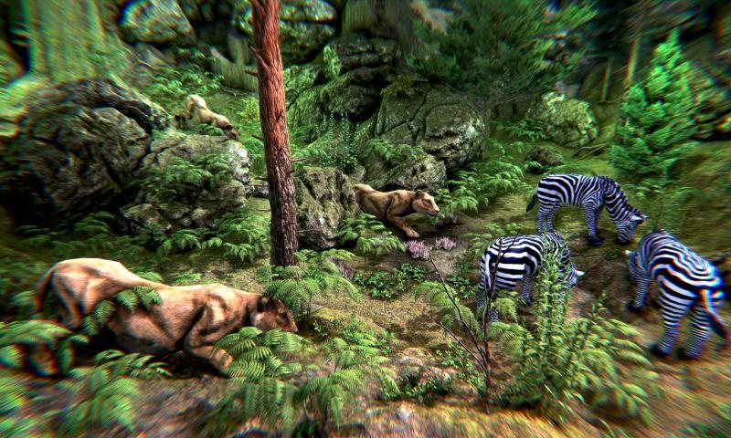 Futurealiti - Wild Lion Simulator - Animal Family Survival Game