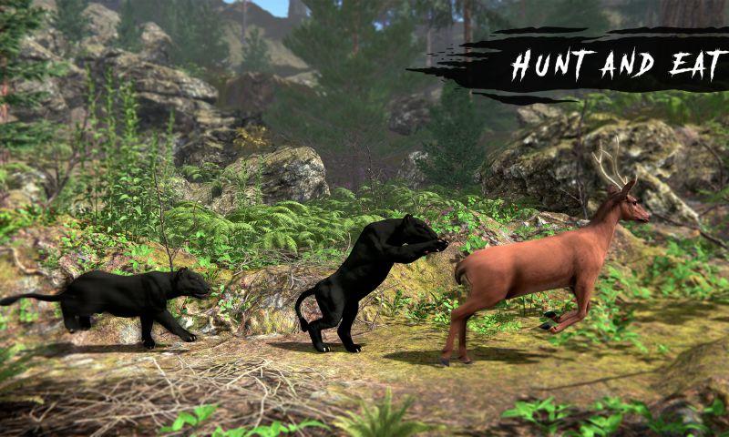 Futurealiti - Wild Panther Simulator – Animal Family Life Game