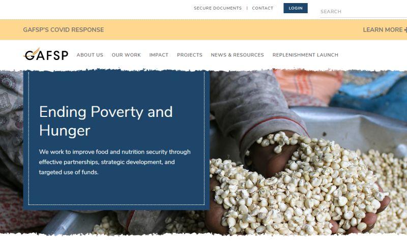 Digital Revamp - WORLD BANK The Global Agriculture and Food Security Program (GAFSP)
