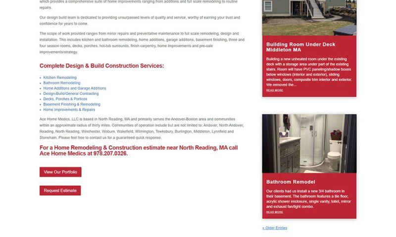 AQ Marketing, Inc. - Website Portfolio
