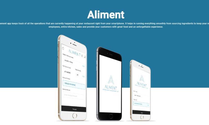 Sparx IT Solutions - Aliment: Mobile App Development