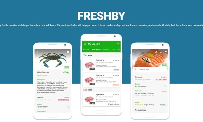 Sparx IT Solutions - Freshby: Mobile App Development