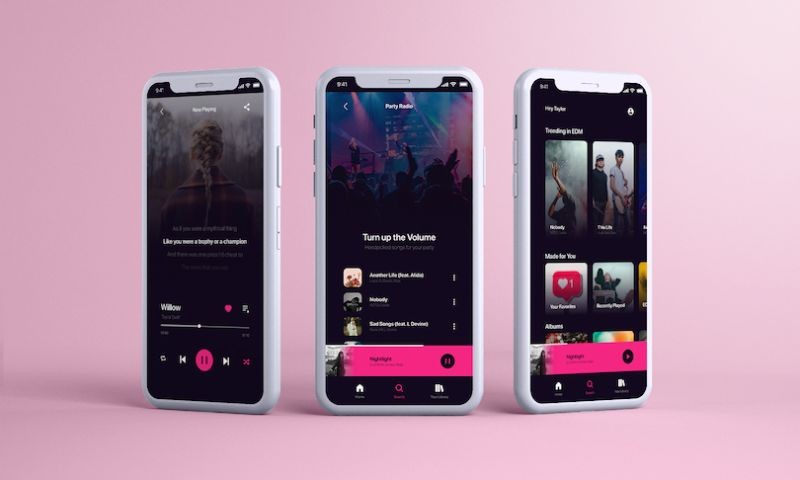 Naskay Technologies Private Limited - Music App