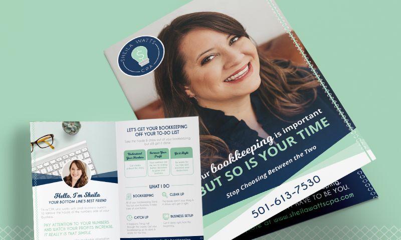 Twingenuity Graphics - CPA Bi-Fold Brochure