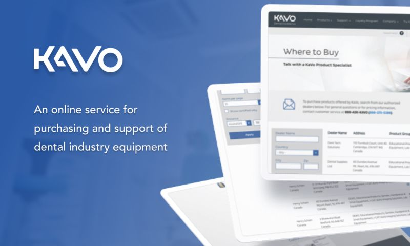 Ekreative - An online service for purchasing and support of dental industry equipment