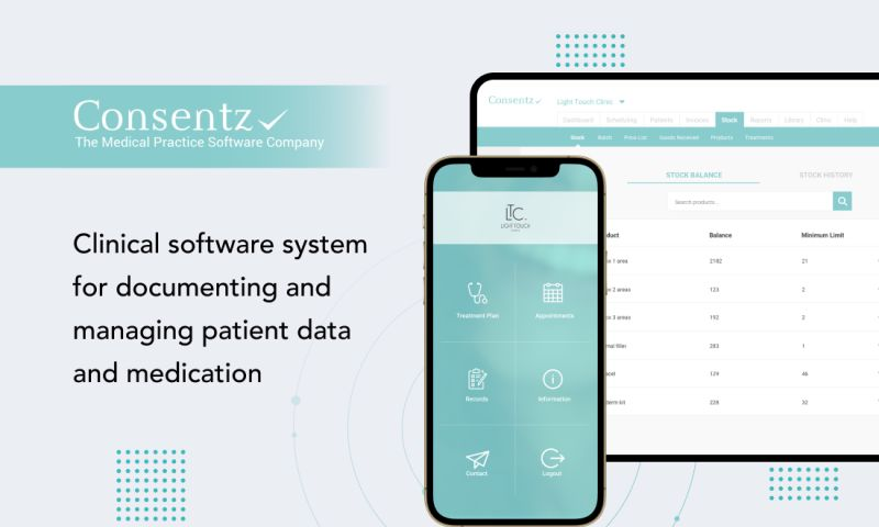 Ekreative - Clinical software system for documenting and managing patient data and medication