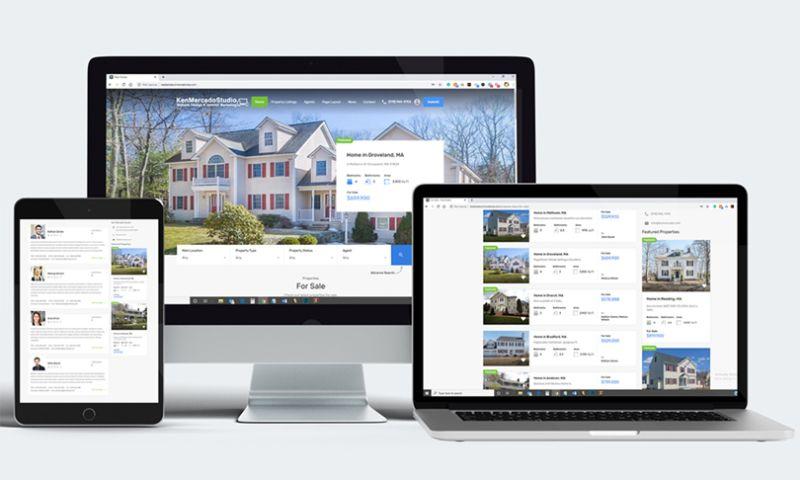 KMS Website Design & Internet Marketing - Real Estate Website
