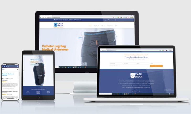 KMS Website Design & Internet Marketing - Medical Device Website