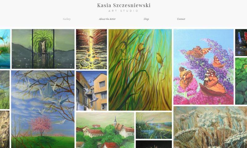 Weblii - Art Studio Website