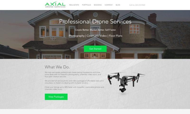 Weblii - Axial Drone Services