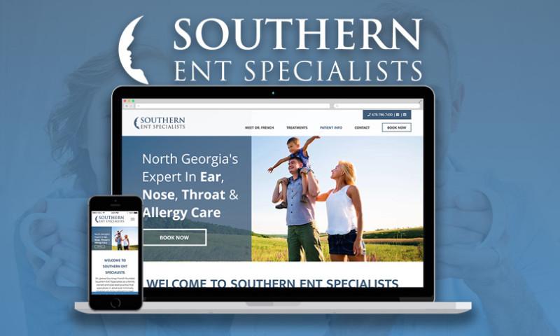 Intrepy Healthcare Marketing - Medical Website Design - Ear, Nose & Throat Practice