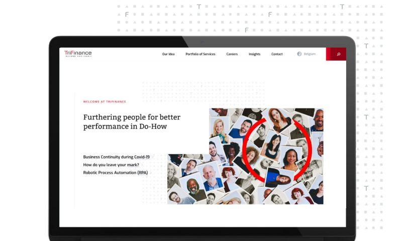 DPDK Digital Agency - Trifinance: A fresh digital face for a bold finance consultancy company