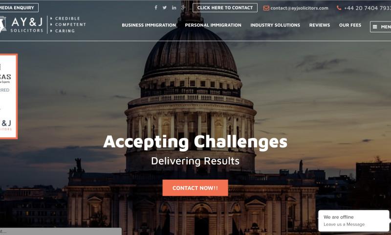 KrishaWeb Technologies - A Y & J Solicitors