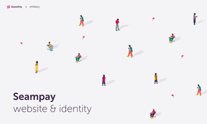 Embacy - Seampay: Website & Identity