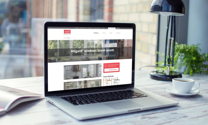 Cozy - Holistic, ground-up site redesign for one of the nation's premier window manufacturers