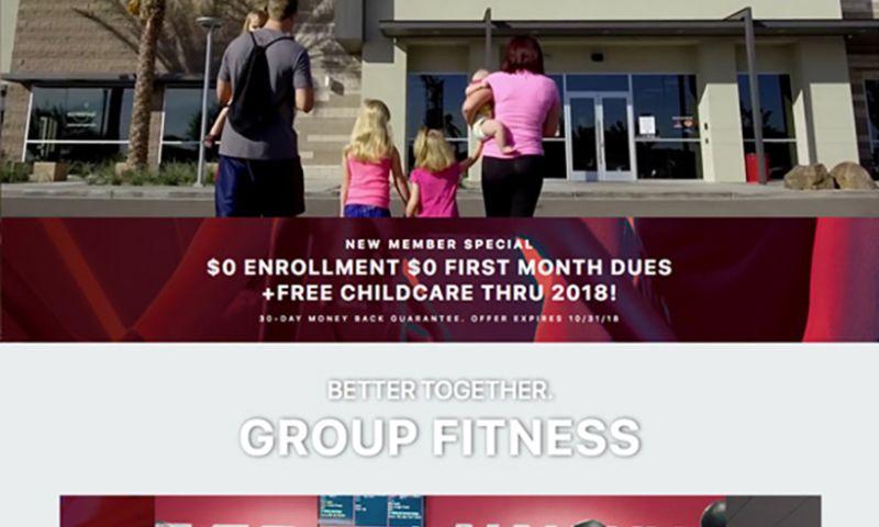 Scottsdale Design Agency - Mountainside Fitness